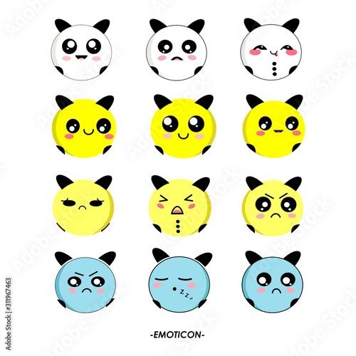Fotografía Cute of Emoticon