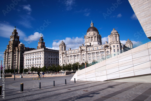 Canada Boulevard and Liverpool Waterfront