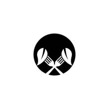 Fork Logo Template Vector Icon...