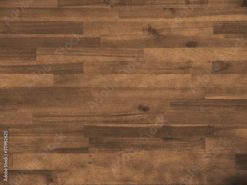 Obraz Recurso gráfico de textura de tábuas de madeira marrom. - fototapety do salonu