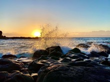 Hawaii Sunset Splash