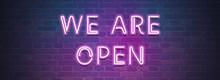 We Are Open Web Sticker Button