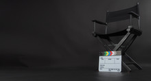 Clapperboard Or Clap Board Or ...
