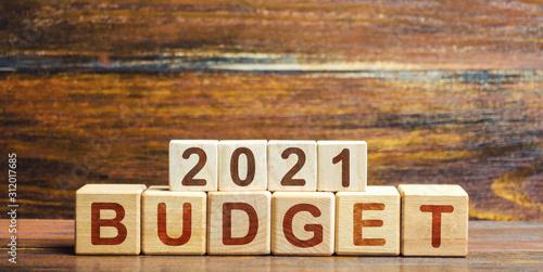 Blocks Budget 2021 Canvas-taulu