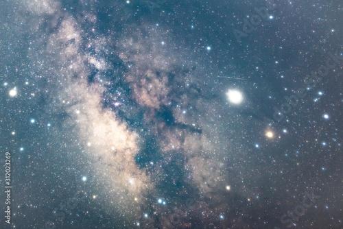Cuadros en Lienzo starry sky with stars