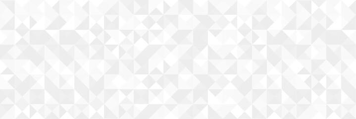 White silver geometric universal background for business presentation . Abstract elegant seamless pattern. Minimalist empty triangular BG. Halftone monochrome cover. Modern digital Happy New Year 2020
