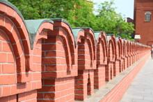 Red Brick Wall At Kremlin Pala...