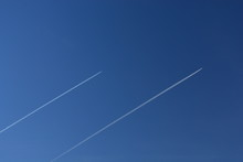 Two Chemtrails Or Contrails Of...