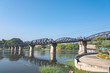 Kanchanaburi River Kwai Bridge, Death Railway Bridge, Thailand