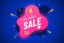 Flash Sale Banner Template. Di...