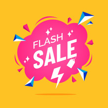 Flash Sale Banner In Flat Cart...