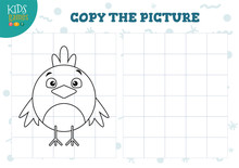 Copy Picture By Grid Vector Il...