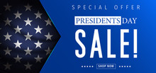 Presidents Day Sale Banner - P...