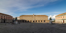 Royal Palace In Naples