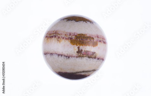 Fototapeta  Jupiter planet isolated on white background