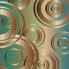 Abstract Background With Bronze Circles