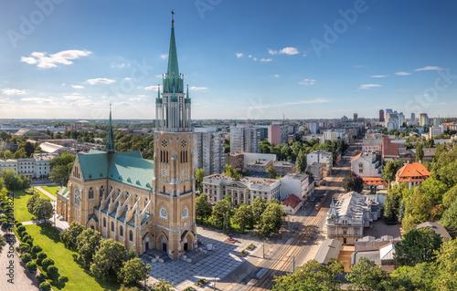 Obraz Panorama Łodzi - fototapety do salonu