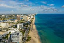 Coastal Beauty Shot Of Fort Lauderdale FL USA