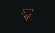 Letter F Logo Vector Template Illustration
