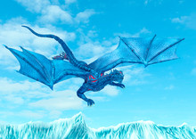 Blue Ice Dragon Is Diving On F...