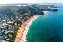 Whale Beach Aerial View , Sydn...