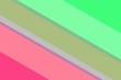 Leinwandbild Motiv diagonal lines trendy colors background