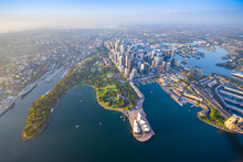 Sydney Harbour From High Above...