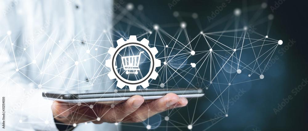 Fototapeta setup and online purchase information