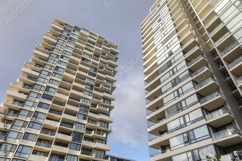 High rise residential building in Sydney Australia
