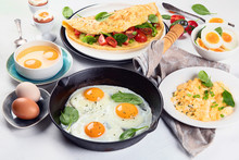 Cooked Egg Dishes