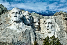 The Dramatic Mount Rushmore Sc...