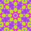 canvas print picture - Bright colorful background with abstract pattern