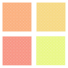 Set Of Yellow Colorful Pastel Baby Pattern Background Textures Vector Illustration Graphic Design