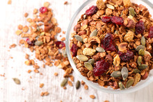 Granola With Nut, Goji Berry, ...