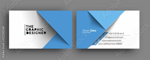 Fotografía Business Card - Creative and Clean Modern Business Card Template.