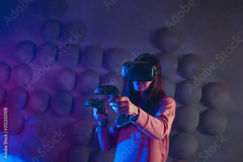 First-person shooter Canvas Print
