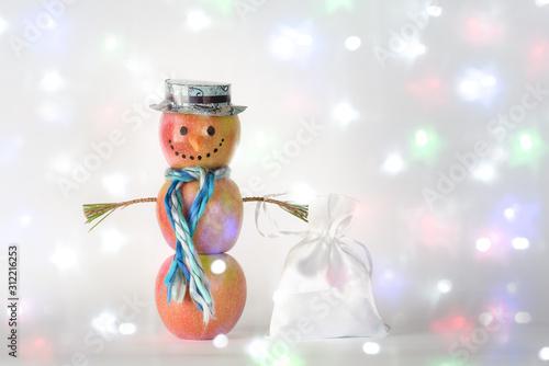 Fotografie, Obraz Concept of Sustainable, Zero waste, Vegan Christmas