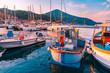 canvas print picture - Rio Marina haven