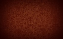 Stylish Brown Vintage Wallpaper With A Vignette, Retro Background
