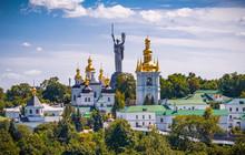 An Aerial View Of Kiev Pechers...