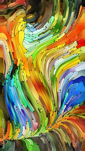 Obraz Colorful Abstract Background - fototapety do salonu