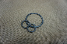 Viking Draupnir Amulet Rings Based On Finds From Gotland Sweden Reconstruction By Daegrad Tools