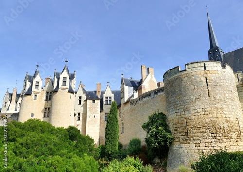 Photo Les remparts du château de Montreuil-Bellay