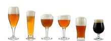 Glasses With Various Types Of ...