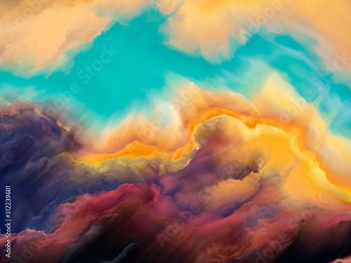 Obraz Spirit of Cloudscape - fototapety do salonu