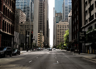 street in the city