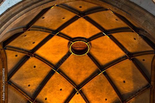 Fototapeta Colmar cathedral detail obraz