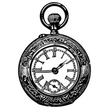 Vintage Pocket Watch, Authetic...