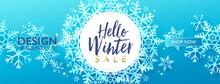 Winter Seasonal Sale Discount ...