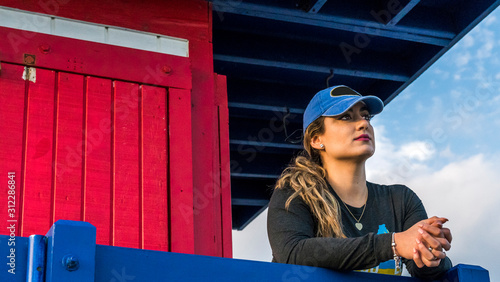 фотография Close Up, Hispanic Latina Woman